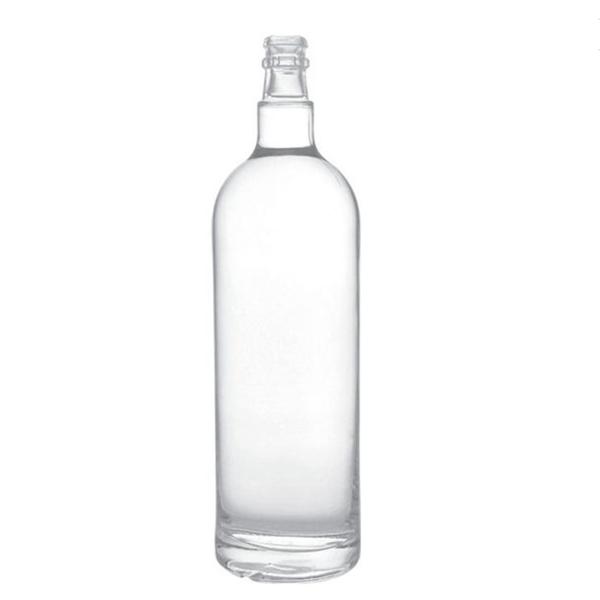 1 liter glass bottle for vodka liquor