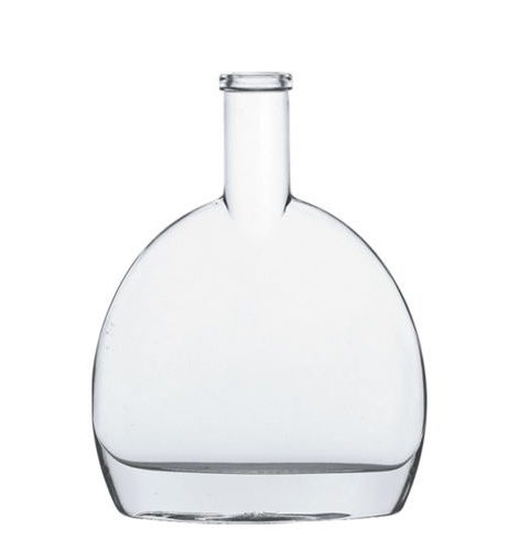 500ML BAR TOP GLASS ALCOHOL BOTTLE