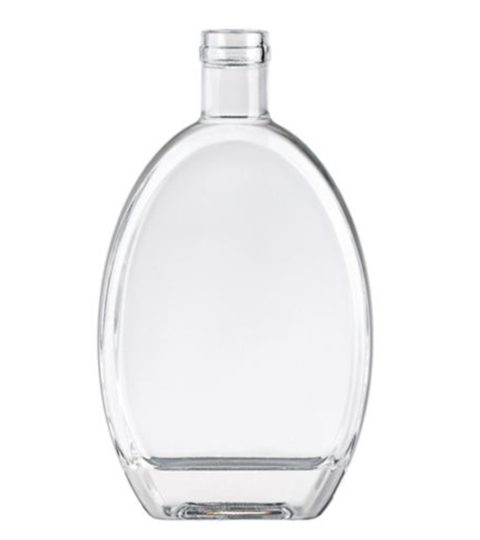 500ML GLASS BOTTLES FOR LIQUOR FLAT SHAPE