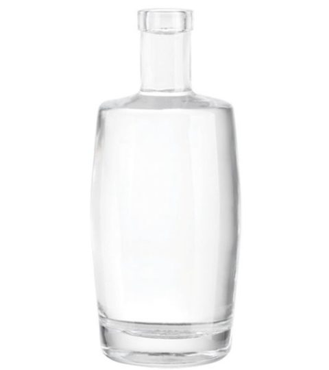 50CL LIQUOR BOTTLE BAR TOP FLAT SHOULDER