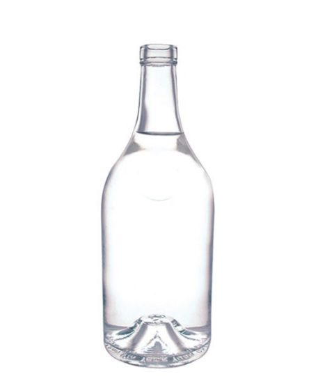 700ML GLASS LIQUOR BOTTLES ROUND SHAPE