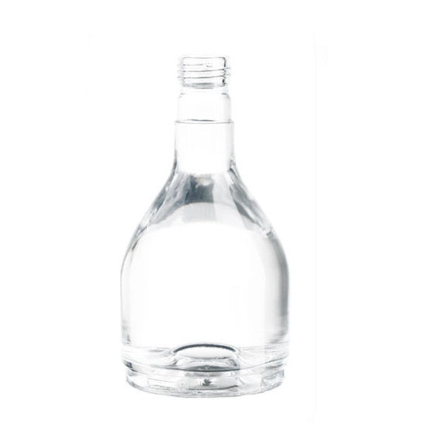 SMALL SIZE GLASS 250ML VODKA BOTTLE