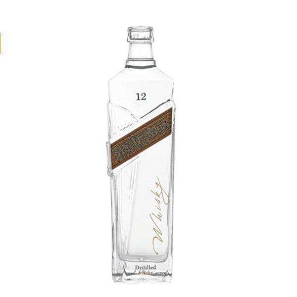 unique shape vodka bottle