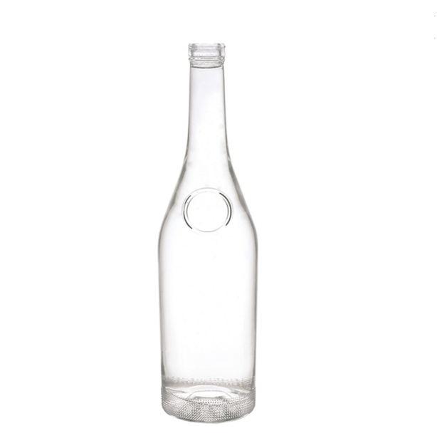 750ml glass liquor bottles with corks