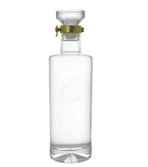 ROUND SHAPE GLASS BOTTLES FOR ALCOHOL