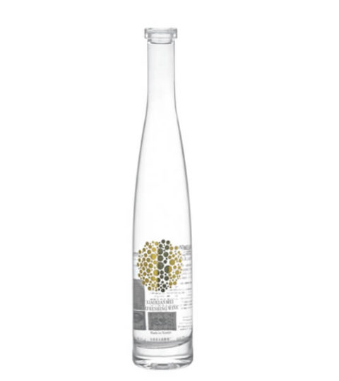 FASHION WHITE 375ML GLASS BOTTLES