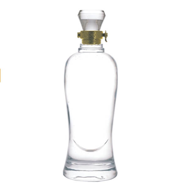 CYLINDER SHAPE WHITE 500ML LIQUOR BOTTLES