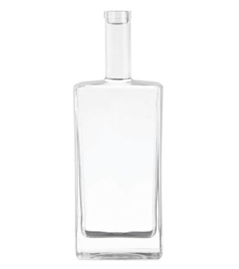 700ML GLASS BOTTLE LONDON DRY GIN GLASS BOTTLE