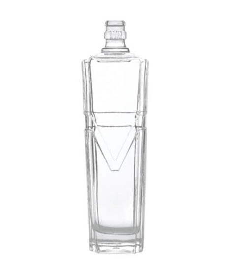 700ML GLASS BOTTLES / SQUARE SPIRIT BOTTLES