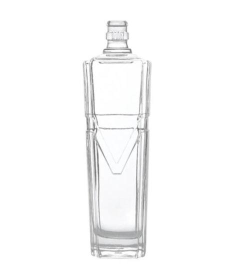 700ML GLASS BOTTLES / SQUARE SPIRIT BOTTLES