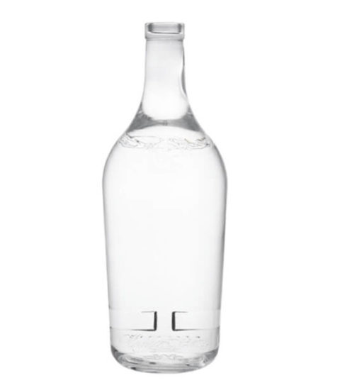 EMPTY WHITE VODKA 70CL GLASS BOTTLE