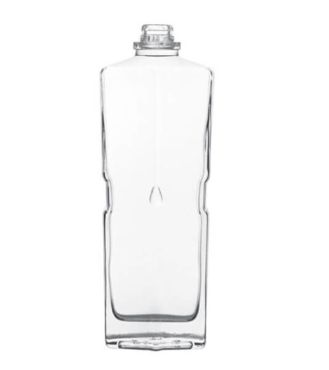 Cl Clear Glass Spirit Bottles