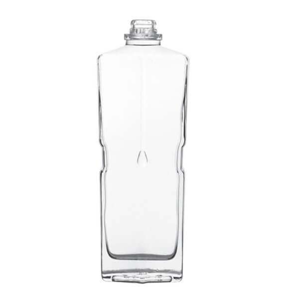 70CL GLASS BOTTLES SQUARE SPIRIT BOTTLES