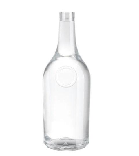750ML GLASS LIQUOR BOTTLES / WHISKEY BOTTLES