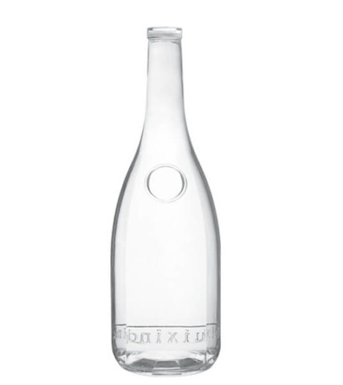 SUPER FLINT GLASS 750ML LIQUOR BOTTLE