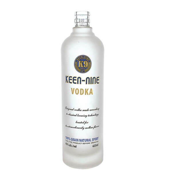 75cl frost vodka glass bottle