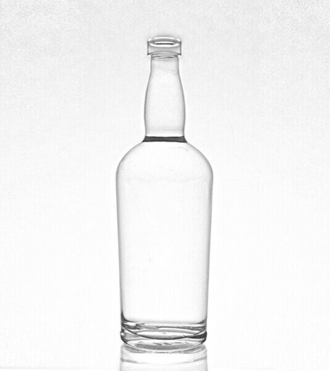 750ML GLASS LIQUOR BOTTLES / WHISKEY BOTTLES