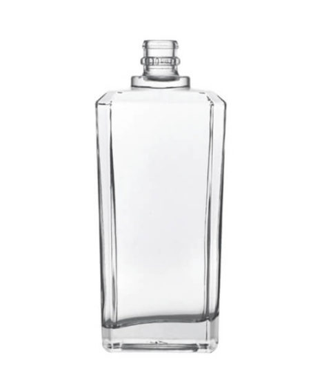 HEAVY 500ML SPIRIT CLEAR LIQUOR BOTTLES