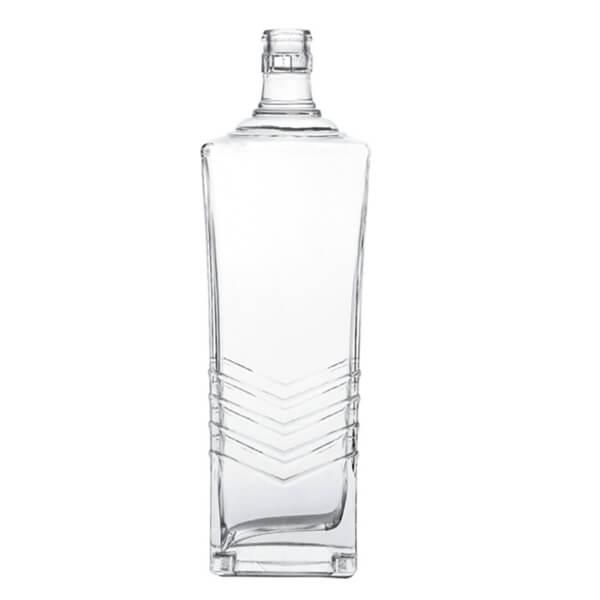 CUSTOM SCOTCH BOTTLE ENGRAVED GLASS BOTTLE