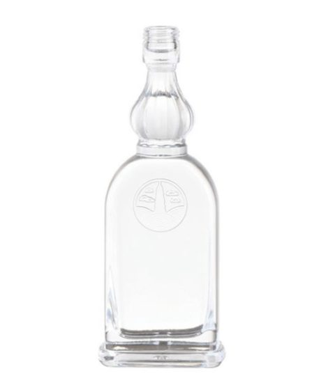 ATTRACTIVE SPIRIT DECORATIVE GLASS LIQUOR BOTTLES