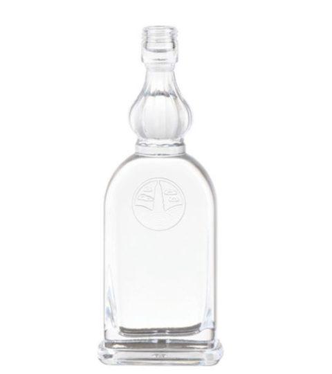 ATTRACTIVE SPIRIT DECORATIVE GLASS LIQUOR BOTTLES