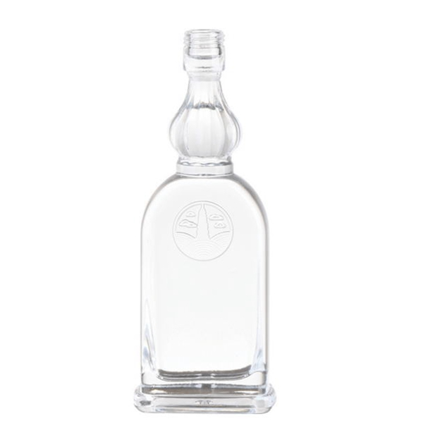 decorative glass bottles for liquor