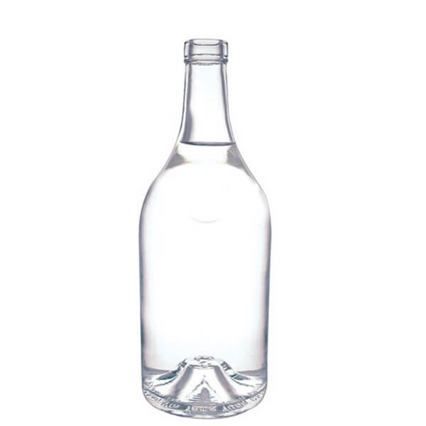 extra white clear 70cl rum bottle