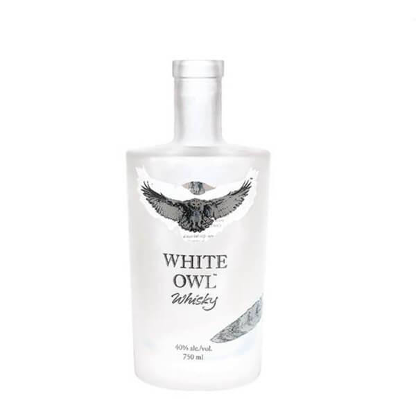 fashion design glass gin bottle manufacturer