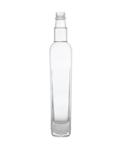 375ML SQUARE FROSTED GLASS BOTTLES