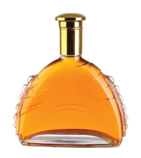 ELEGANT FANCY BRANDY GLASS BOTTLES WHOLESALE