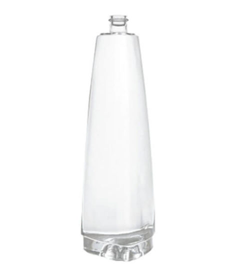 750ML TRIANGLE SHAPED SPIRIT VODKA BOTTLES