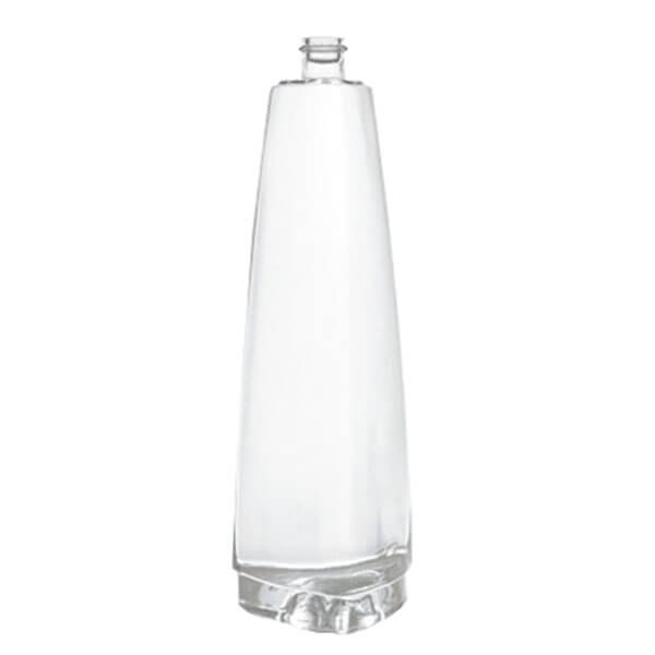 triangle shaped spirit vodka bottles
