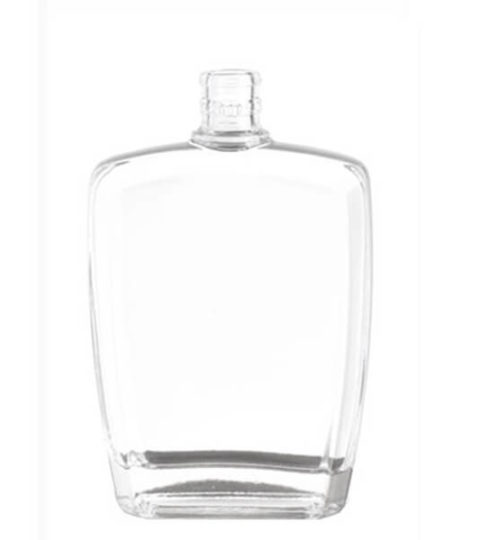 FLAT SQUARE LIQUOR WHISKY GLASS BOTTLE SUPPLIER