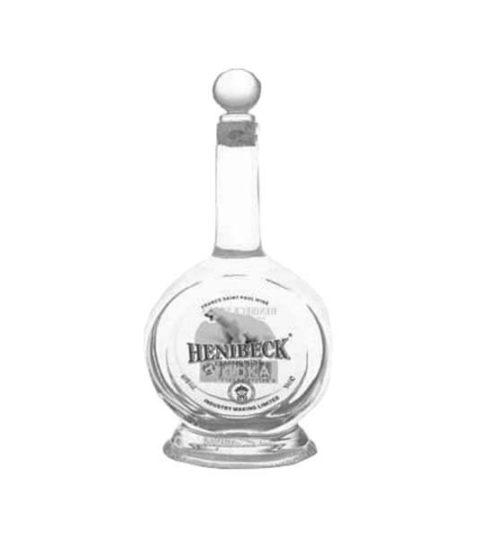 LONG NECK 500ML CLEAR GLASS BOTTLES FOR VODKA PACKAGING