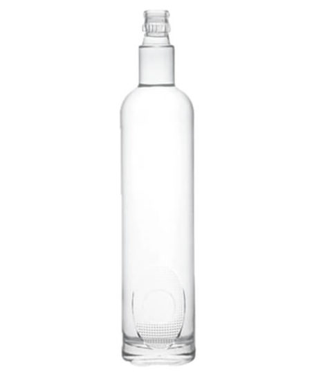 TALL VODKA  EMPTY SPIRIT 750ml GLASS LIQUOR BOTTLES