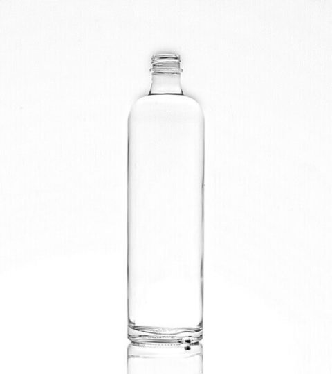 GOOD QUALITY WHITE CLEAR 750ML VODKA BOTTLE