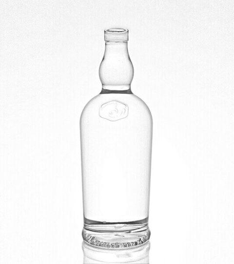WHISKY GLASS BOTTLE CORK FINISH CUSTOM LOGO