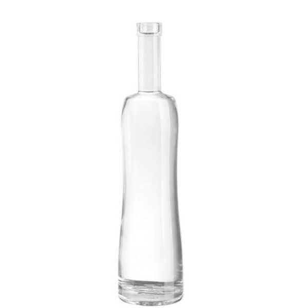 cork sealing vodka bottle