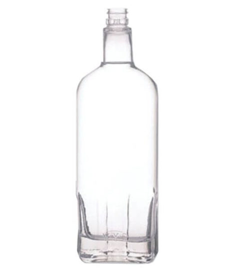 PREMIUM GUALA TOP  EXTRA WHITE CLEAR WHISKEY BOTTLE