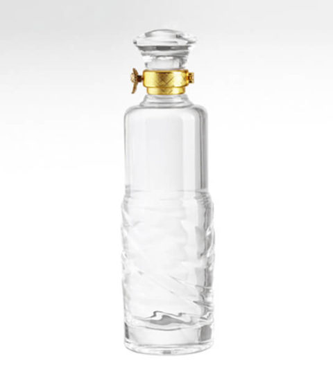 GLASS CAP SEALING HIGH WHITE GLASS 500ML BOTTLES FOR SALE