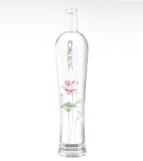 BEAUTIFUL 500ML GLASS BOTTLE NEW VODKA PACKAGING BOTTLE