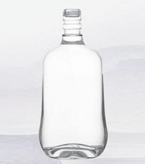 EXTRA WHITE CLEAR GLASS LIQUOR BOTTLES 700ml VODKA BOTTLE