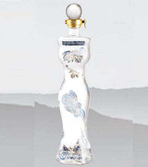 LIQUOR BOTTLES FOR SALE 750ML WOMAN BODY SHAPE GLASS BOTTLE