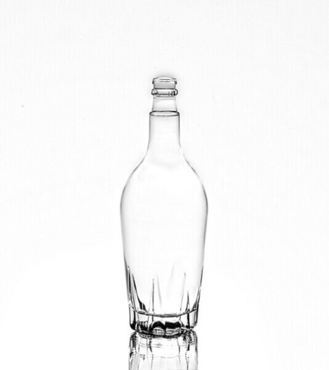 EMPTY WHITE CLEAR GUALA TOP 750ML BOTTLES FOR SALE
